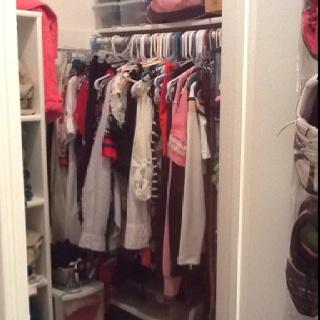 Apartment closet organization  Tips  Pinterest