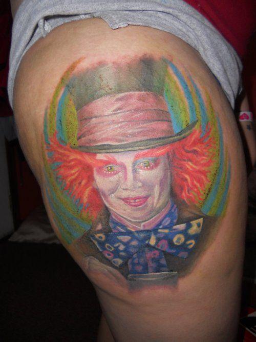 mad hatter tattoos - photo #8