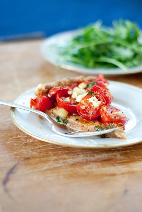 summer tomato tart | Meatless Monday | Pinterest