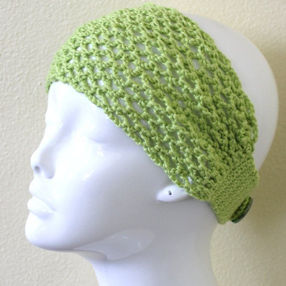 Crochet Flowers Patterns Headbands : PATTERN - Headband With Flower Crochet Pattern Phototutorial