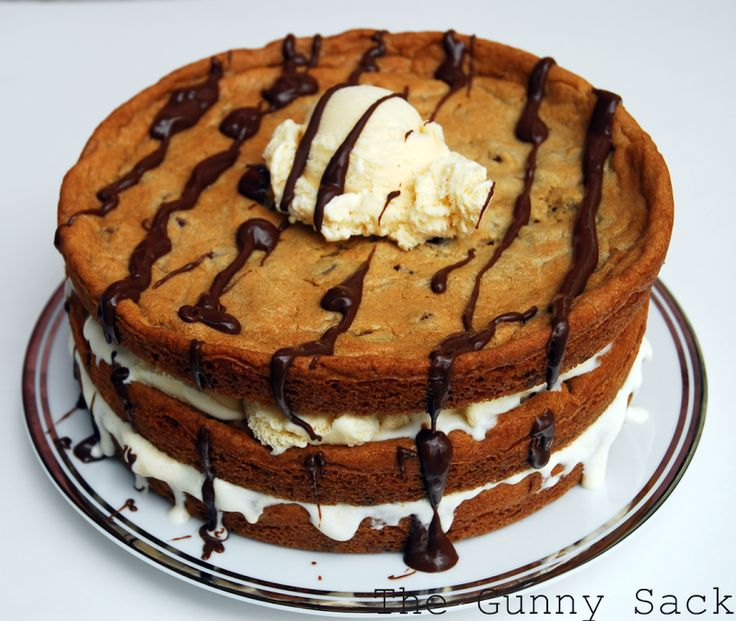 ... Week Munchies: Chocolate Chip Cookie & Ice Cream Cake | The Gunny Sack