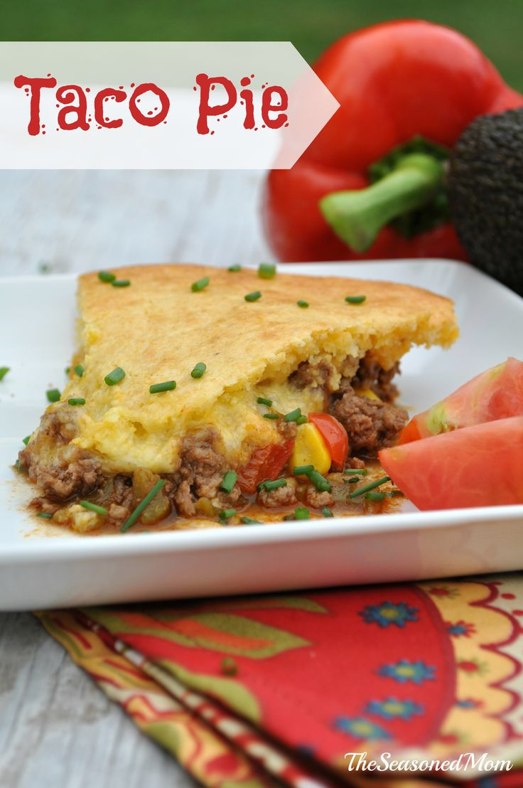 The Best Taco Pie on MyRecipeMagic.com | Main Dish Recipes from My Re ...
