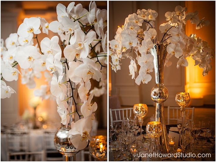 Orchid Wedding Centerpieces