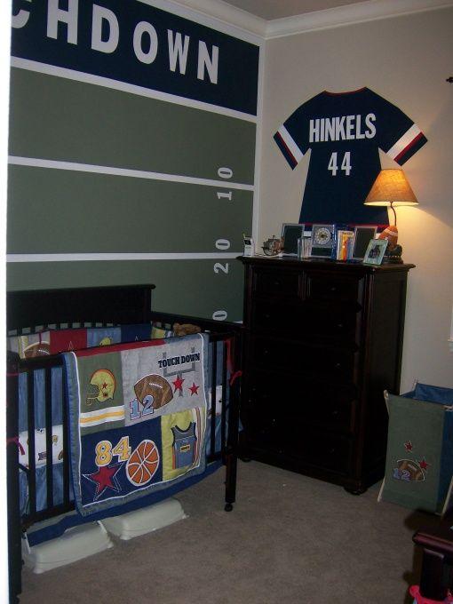 sports themed nursery decor sports themed nursery decor popsugar baby nursery decor sport. Black Bedroom Furniture Sets. Home Design Ideas