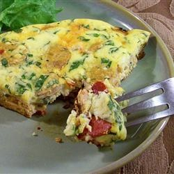 frittata italian sausage pepper roasted red peppers roasted red pepper ...