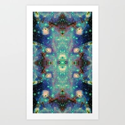 Parallax Art Print by Starstuff - $15.00