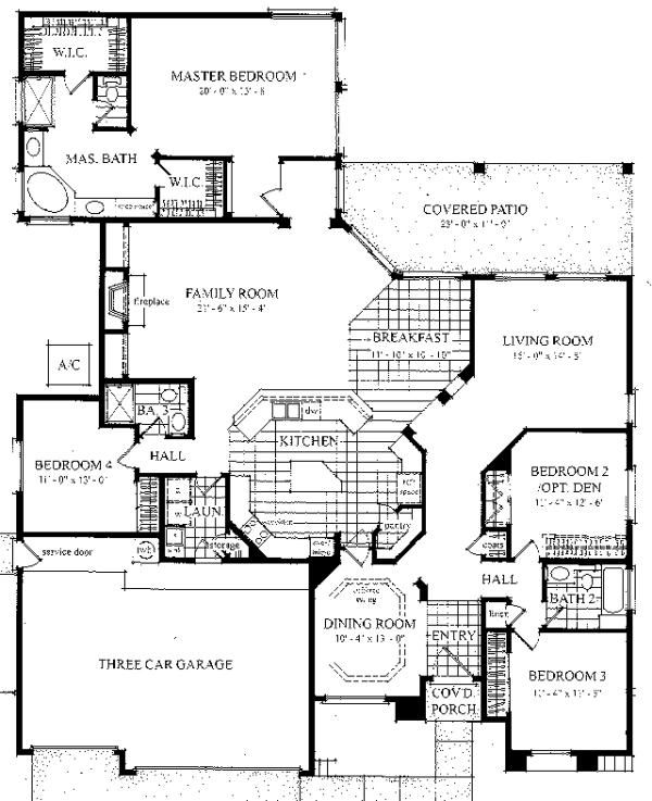 4 Bedroom Ranch Layout Our New House Pinterest