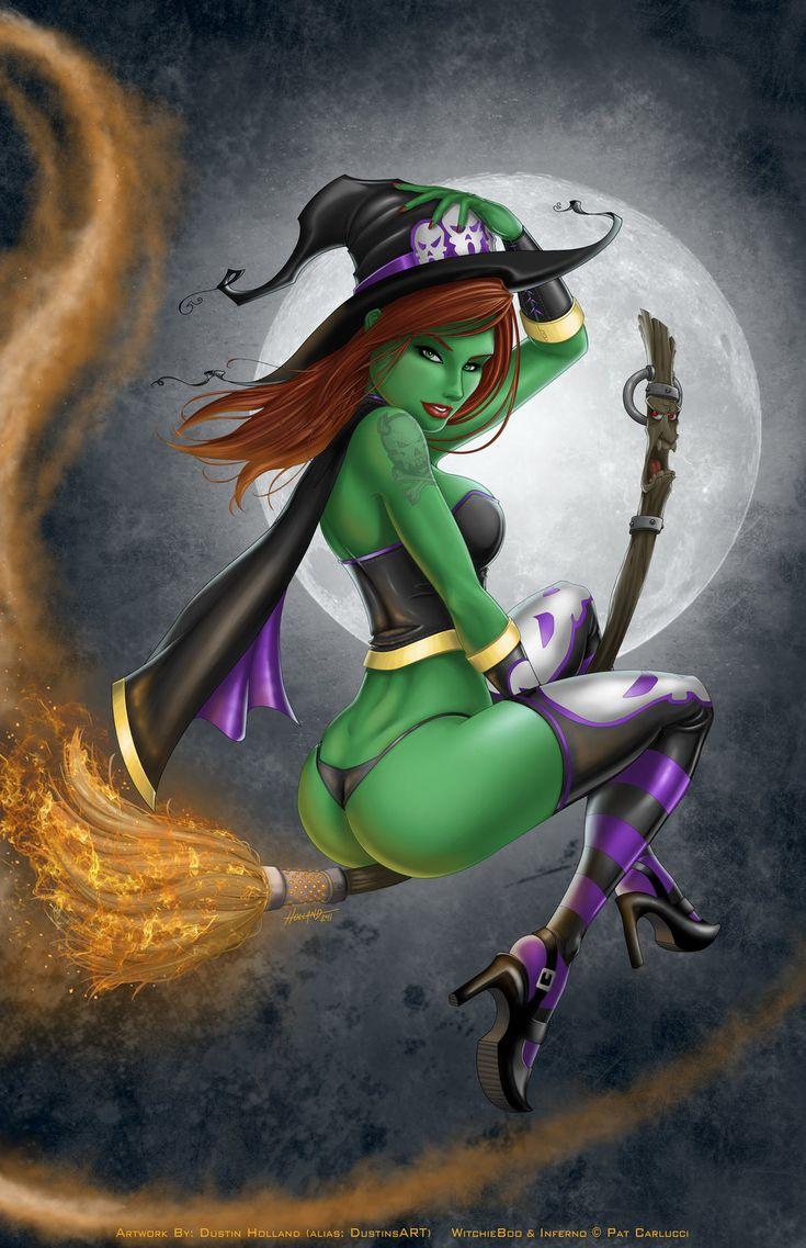 Sexy cartoon witch nude movies
