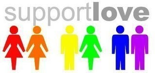 support love! National LGBT Pride Month (June) Pinterest