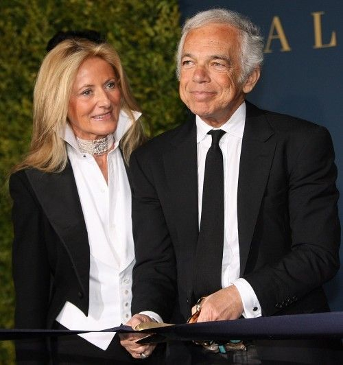 Ralph Lauren with Wife Ricky Low-Beer