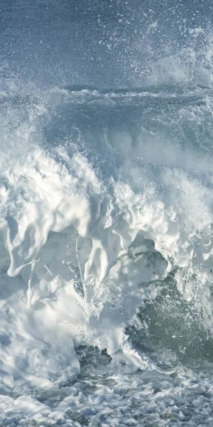 sea foam. Series 1 no. 1 by Robin H. Reynolds