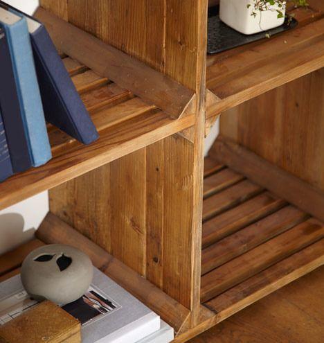 milk crate inspired shelving 2 | home & furniture DIY | Pinterest