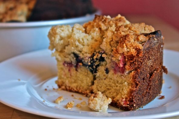 Berry Almond Breakfast Cake | Cooking and Baking Magic | Pinterest