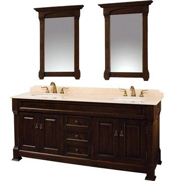 Bathroom Vanity on Andover 72  Traditional Bathroom Double Vanity Set By       For The H