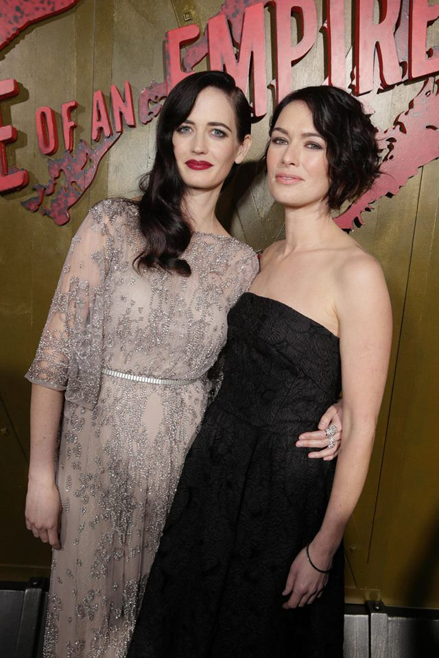 Eva Green and Lena Headey | Eva Green | Pinterest Eva Green
