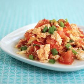 Stir-Fried Tomato and Eggs, a simple Chinese comfort food that comes ...