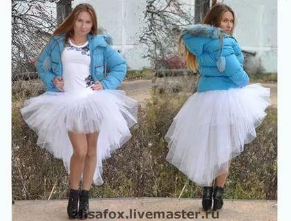 Топ для юбки из фатина