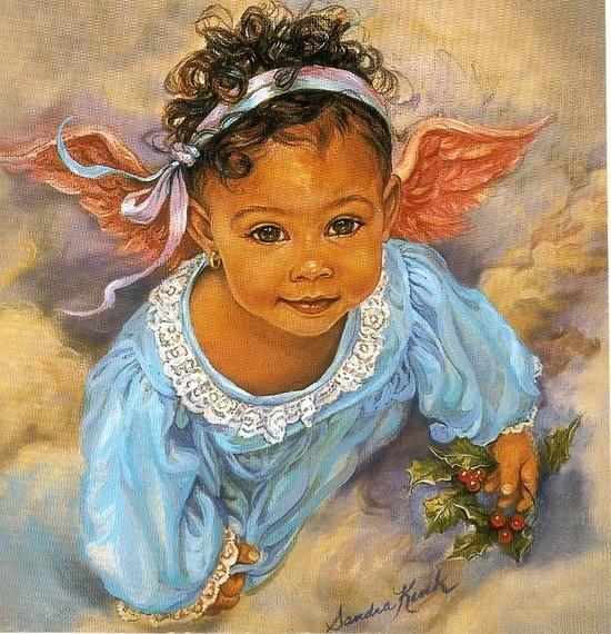 Little angel... | African American Art | Pinterest