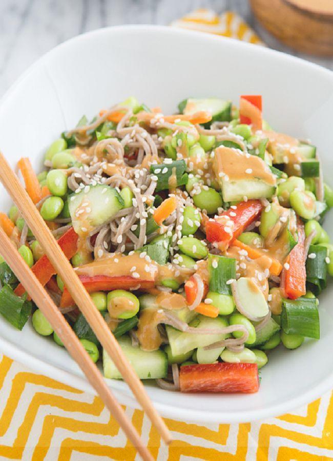 thai pork rice bowl thai noodle stir fry thai soba noodle bowl recipes ...