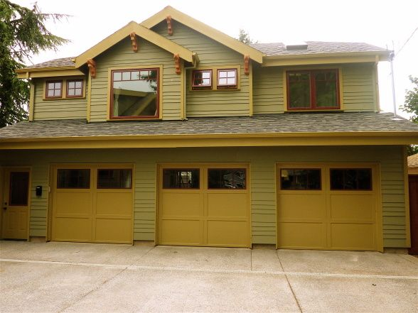 Bungalow Garage Exterior Pinterest