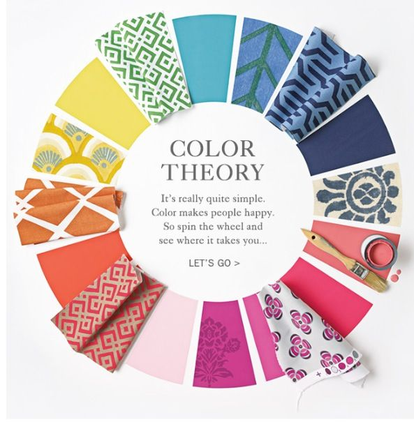 color wheel decorating inspirations pinterest