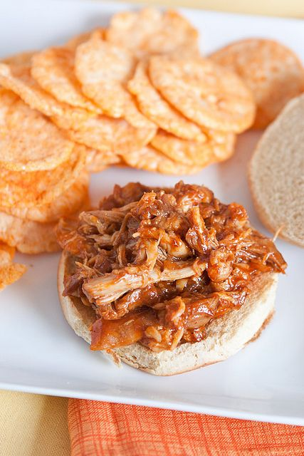 Barbecue Pulled Chicken Sandwiches | Recipe