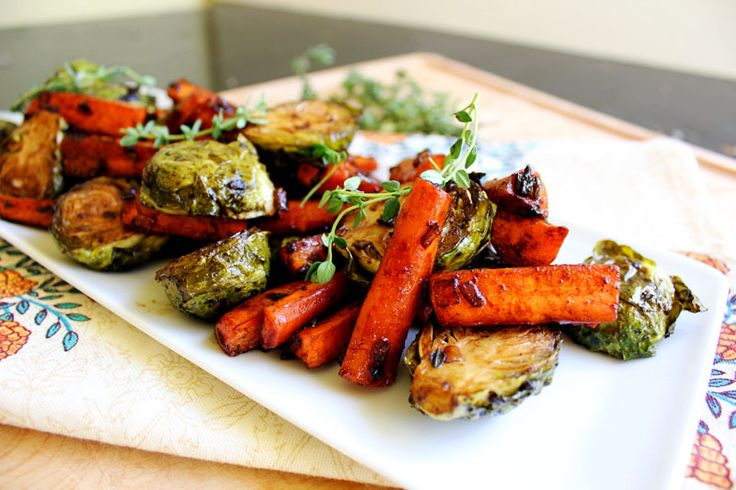 Balsamic Glazed Roasted Vegetables for the Holidays. A sure crowd ...