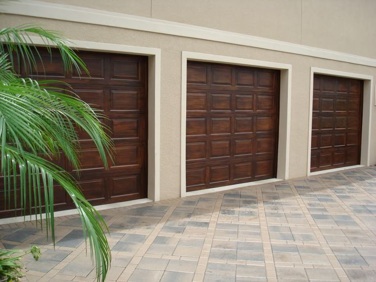 Faux Wood Garage Doors For The Home Pinterest