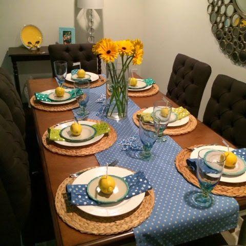 brunch table setting home decor pinterest