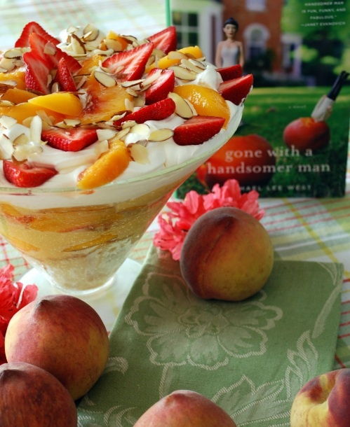 and peach cream trifle strawberry and peach cream trifle jimmy cream ...