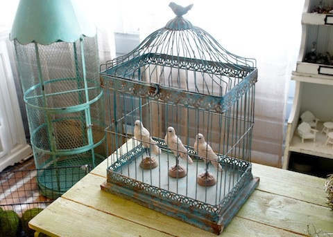 Large Bird Cage Home Decor Love Pinterest