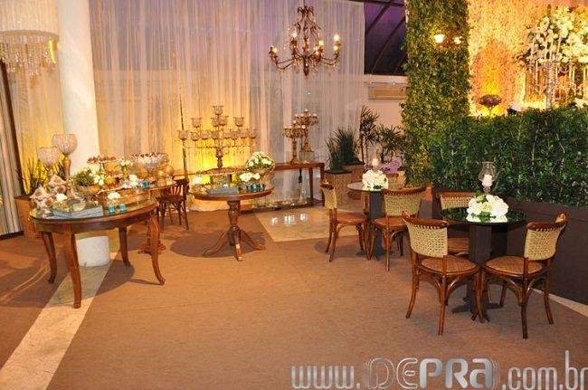 Decoração de Casamento Azul e Branca  Noivinhas de Luxo