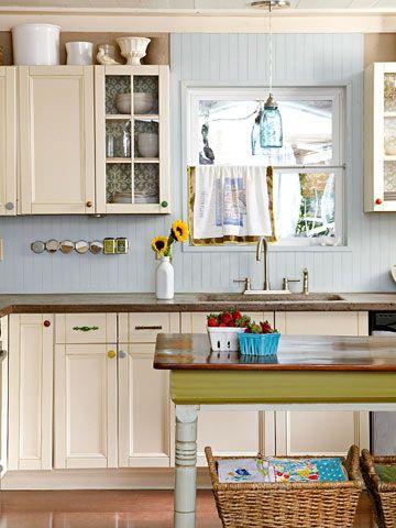 Cozy Cottage Kitchens Vision Board Pinterest