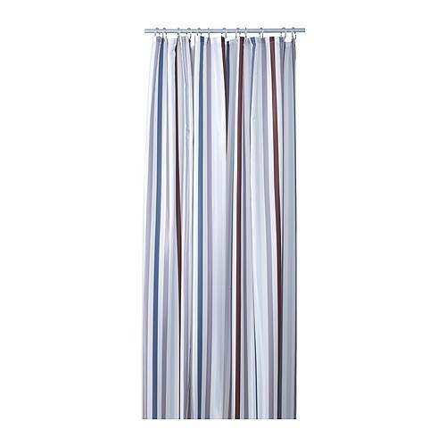 Ikea BREDGRUND Shower curtain multicolor Brand New