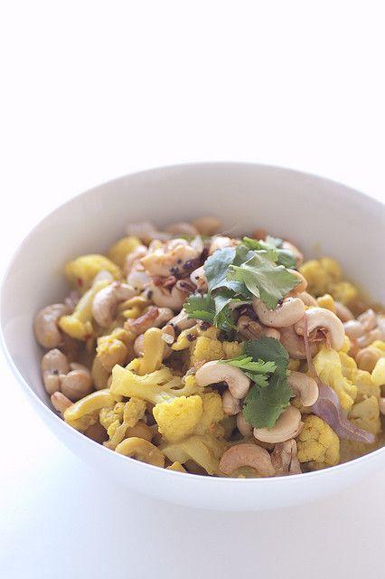 cashew & cauliflower curry | stone soup | chomp. | Pinterest