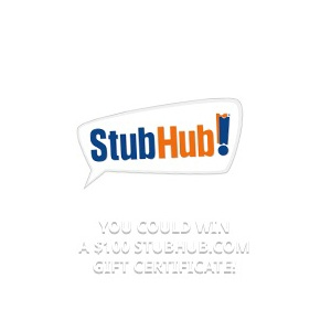 Enter for a chance to win a StubHub.com $100 Gift Card to use toward your purchase! #win #free #giveaways #sweepstakes