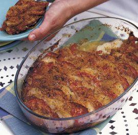 red potato amp tomato gratin with leeks gruyère amp rosemary fine ...