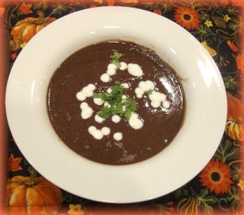 Crock-pot black bean soup | SOUPS UP | Pinterest