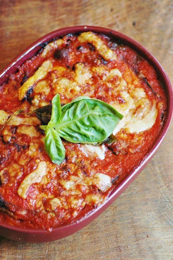 Melanzane alla Parmigiana; one of my success recipes. And super easy!