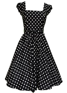 Lady V frock - a girl can never have too many polka dot dresses