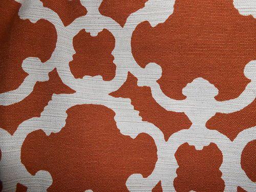 Home Threshold Target Farrah Fretwork Rust Curtain