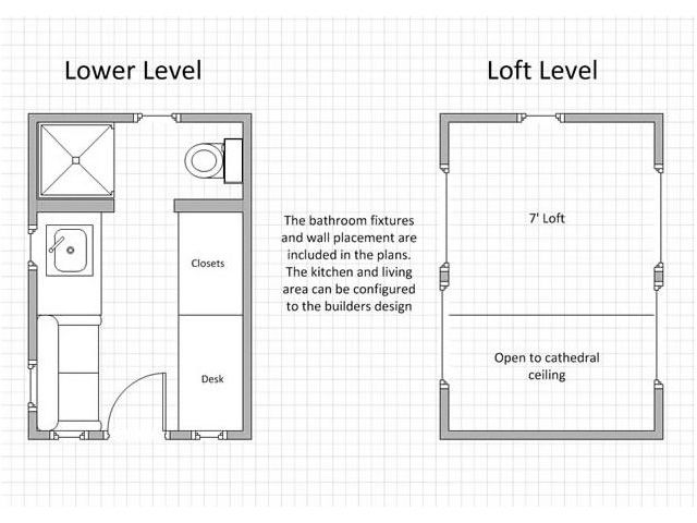Tiny house on wheels plan small space design pinterest Tiny house floor plans on wheels