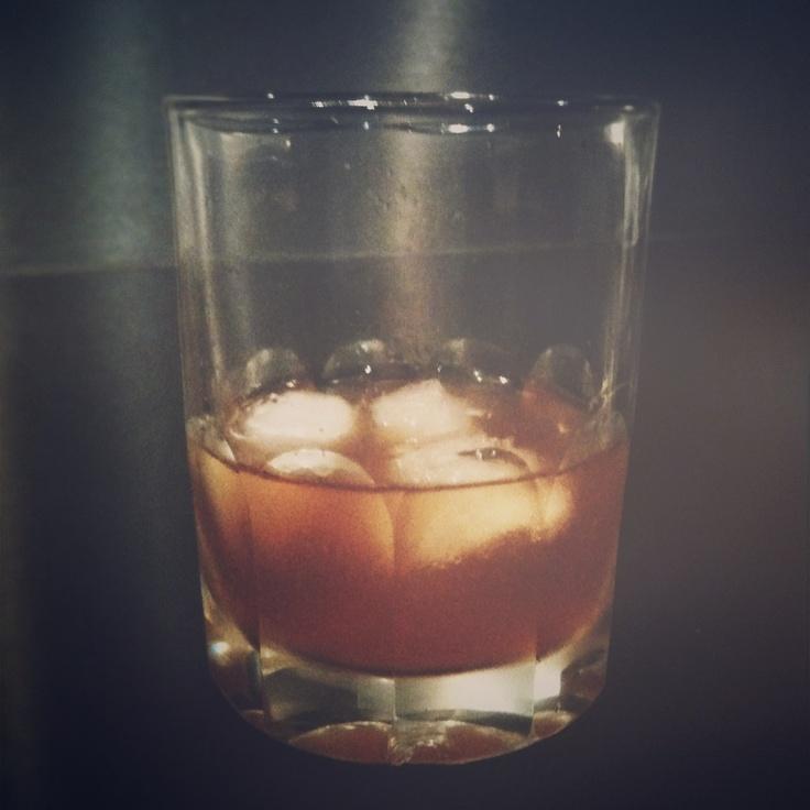 Sazerac - Absinthe, Hudson Manhattan Rye, Angostura Bitter & Slice of ...