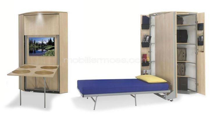 lit original bed design contamporain escamotable