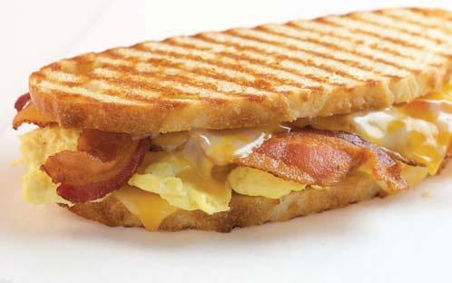Breakfast Panini Recipe — Dishmaps