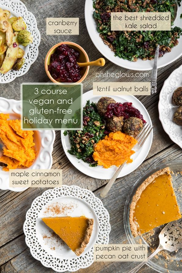 3 Course Vegan and Gluten Free Holiday Menu – Step by step!