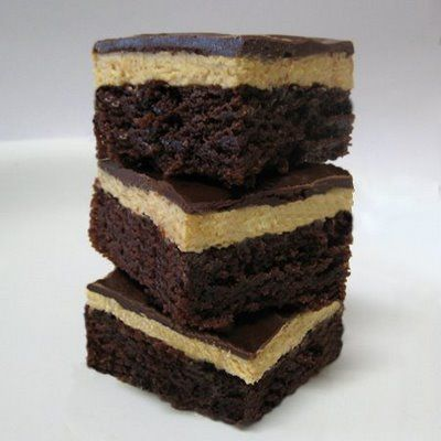 Peanut Butter Truffle Brownies | Food-Brownies and Bars | Pinterest