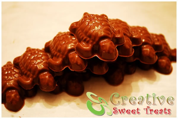 Chocolate Turtles | Party ideas | Pinterest