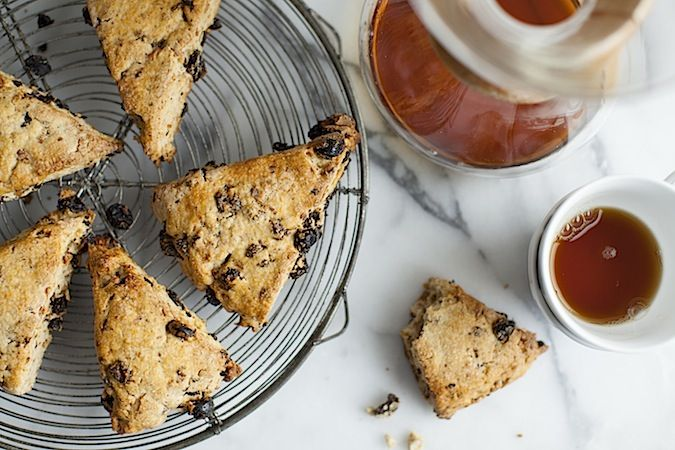Sour Cherry and Walnut Scones | Breakfast recipes | Pinterest