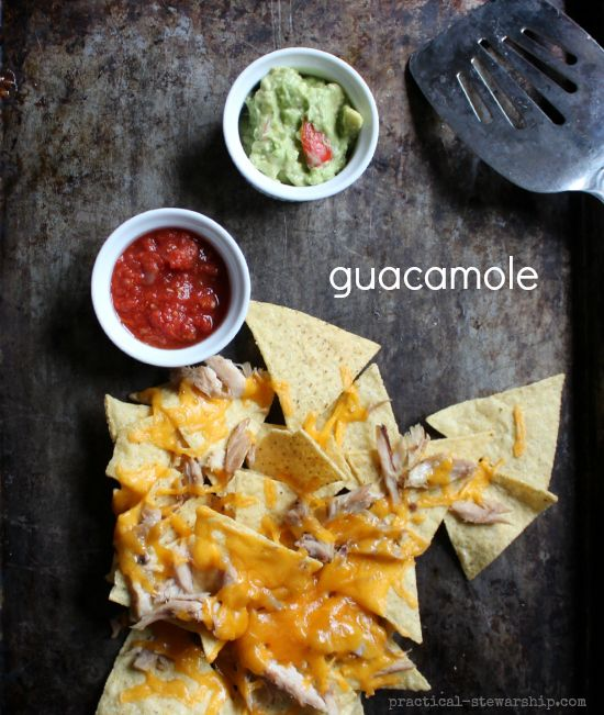 Simple Guacamole Recipe - onion powder and a squeeze of lime